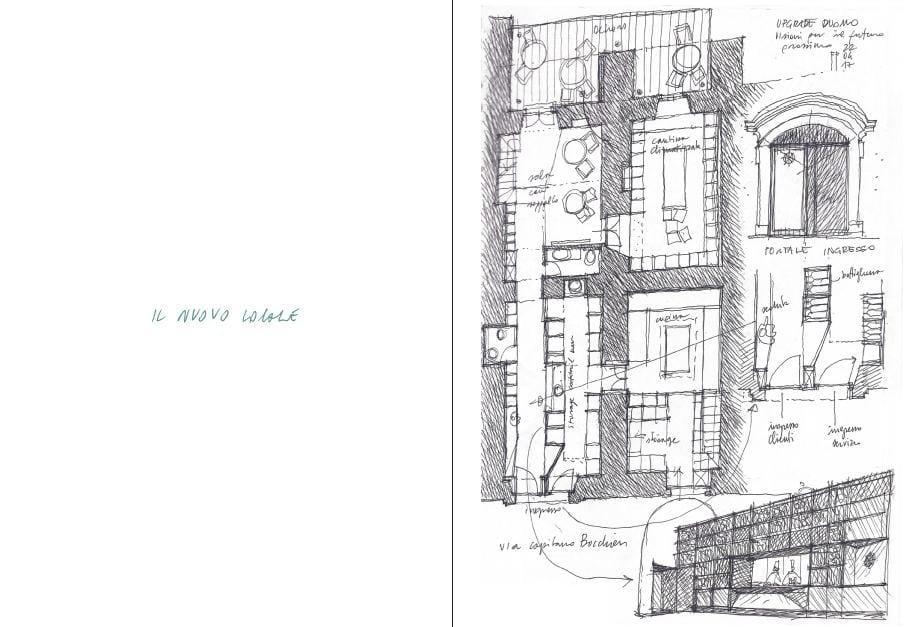 Il disegno di Cantieri Sultano di Fabrizio Foti