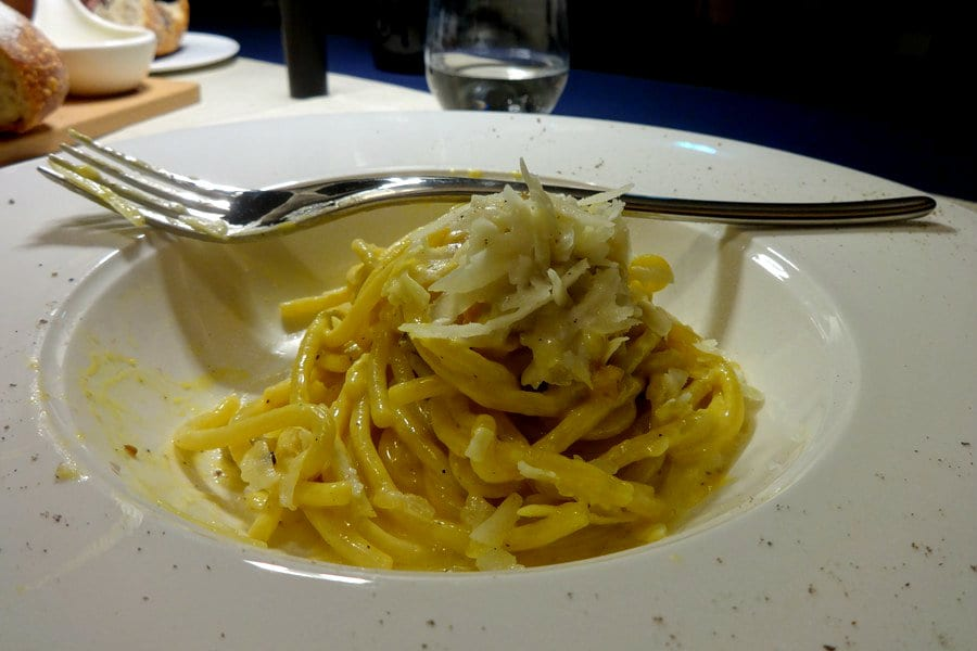 Carbonara dell'Hilton Lake Como