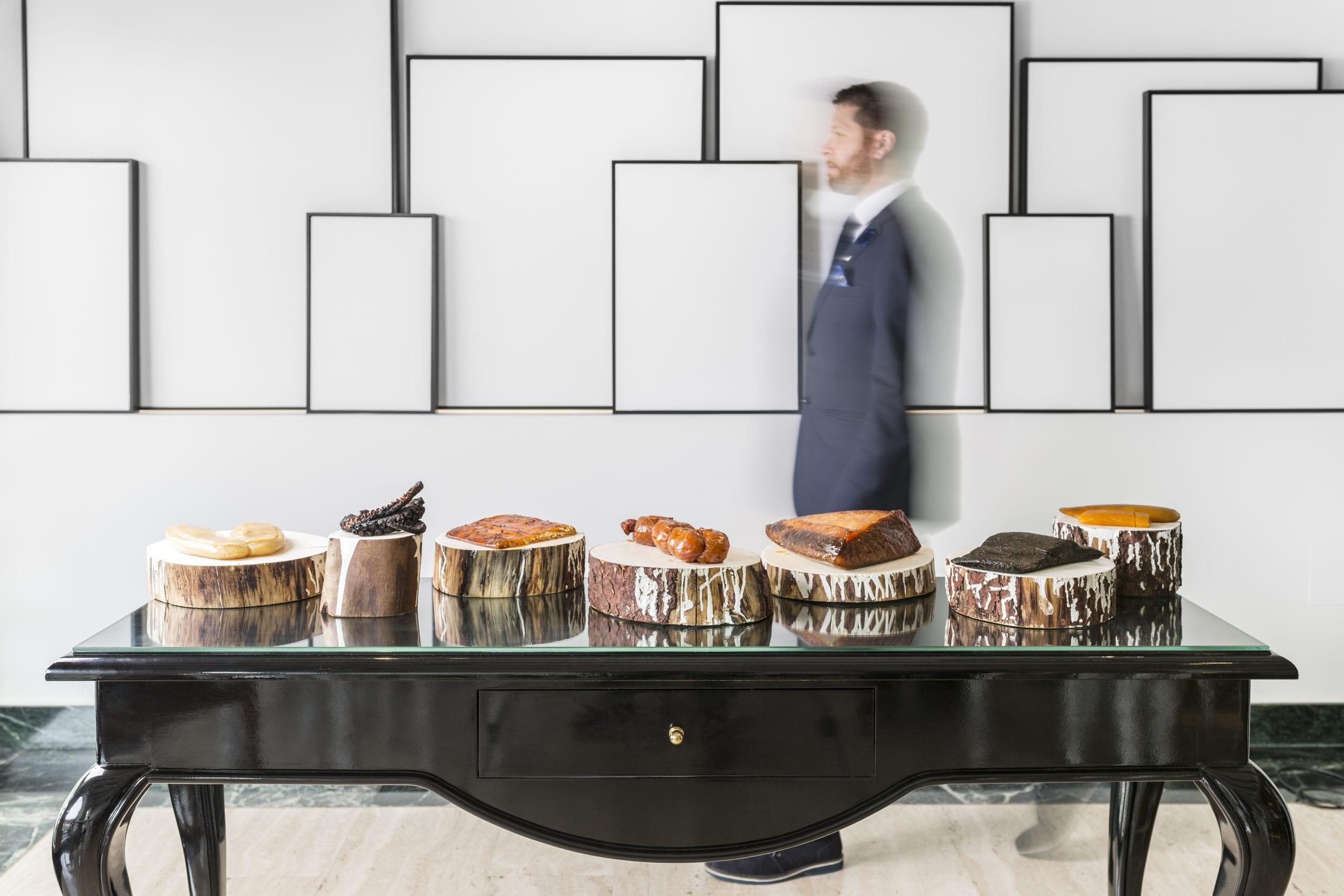 La mesa de salazones di Quique Dacosta