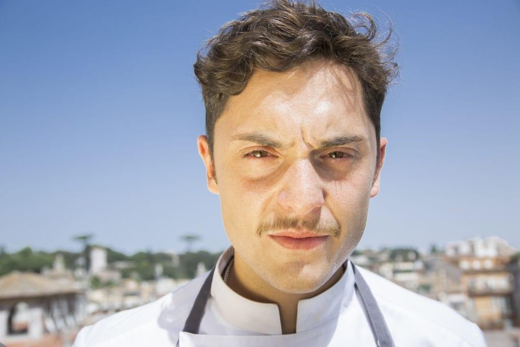 Ritratto dello Chef Daniele Lippi foto Barbara Santoro