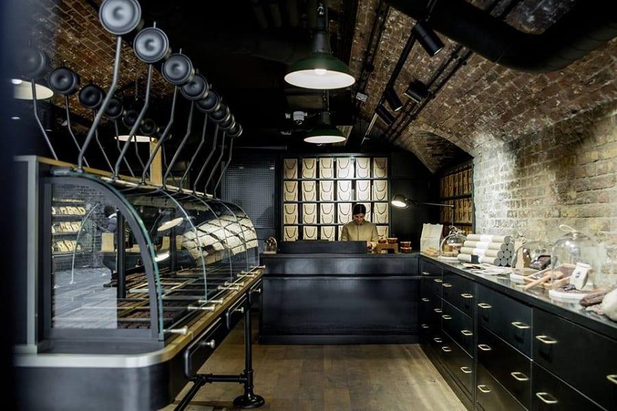 la bottega del cioccolato di Alain Ducasse a Londra