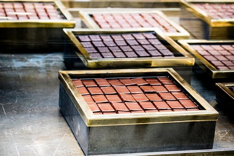 scatole di cioccolatini