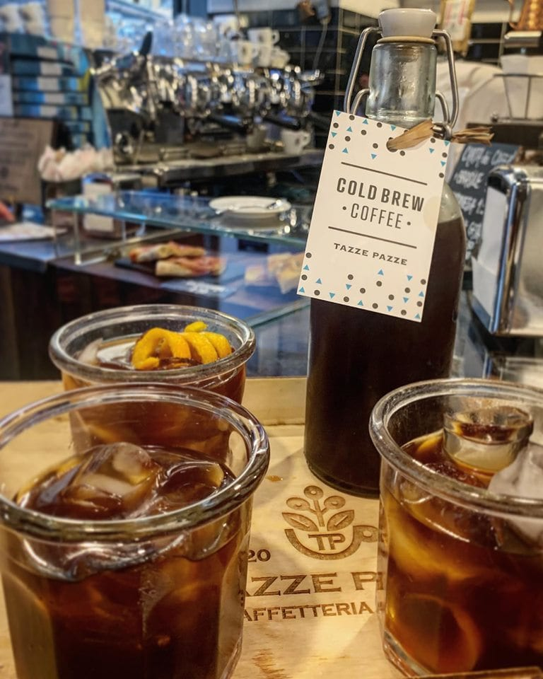 Cold brew, Tazze Pazze Caffetteria Gourmet