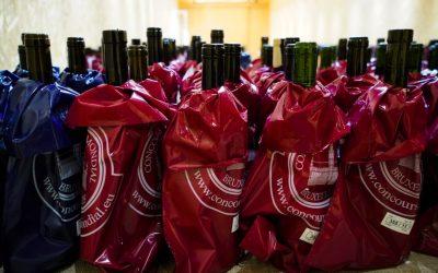 Concorso bruxelles foto di bottiglie coperte
