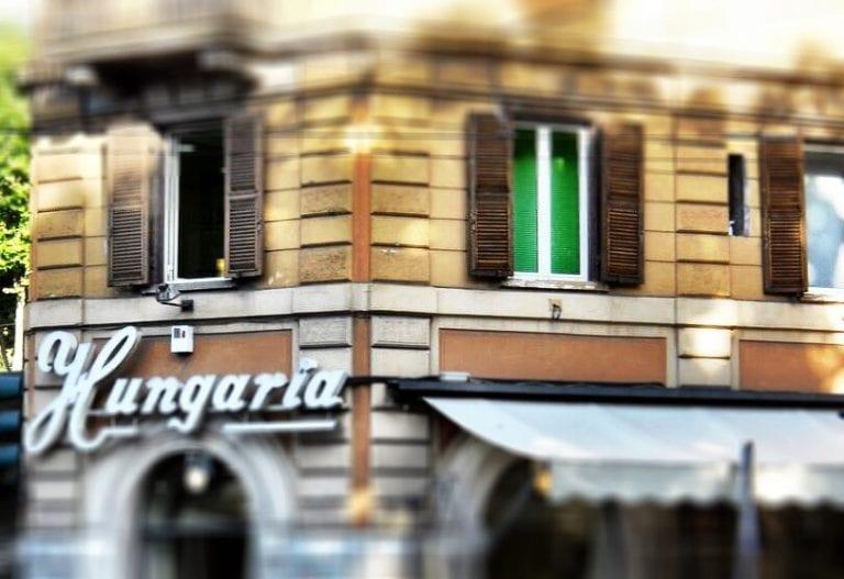 Riapre A Roma Lo Storico Bar Hungaria Gambero Rosso