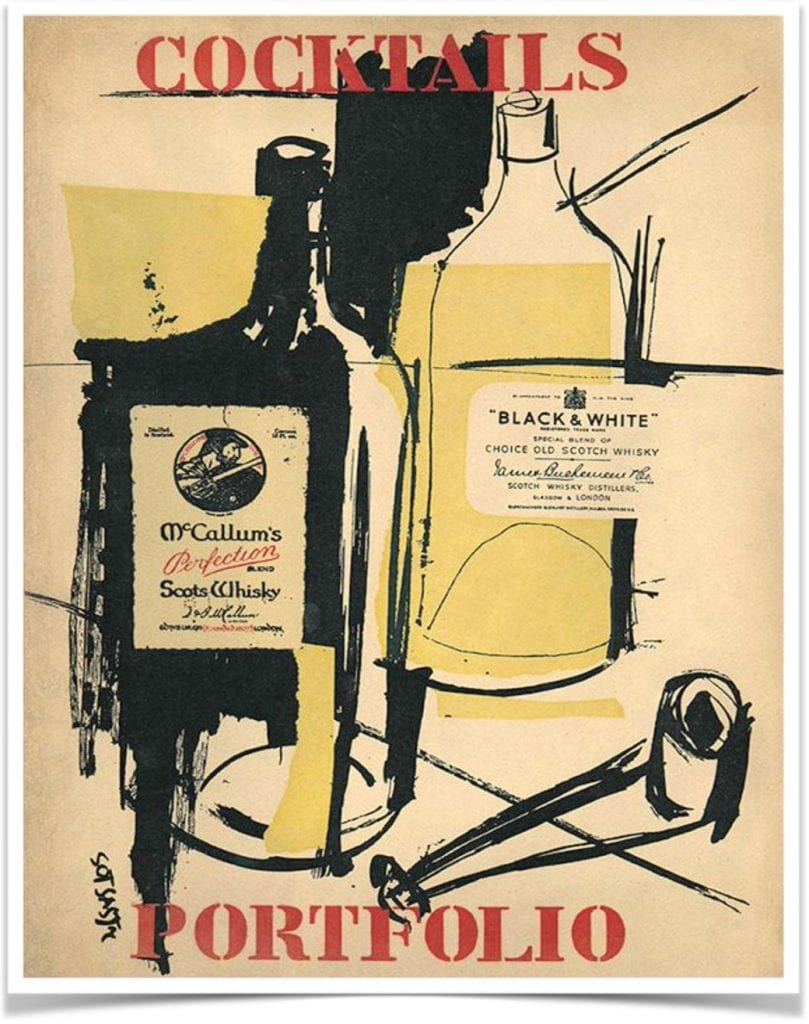 Cocktails Portfoliola copertina del libro