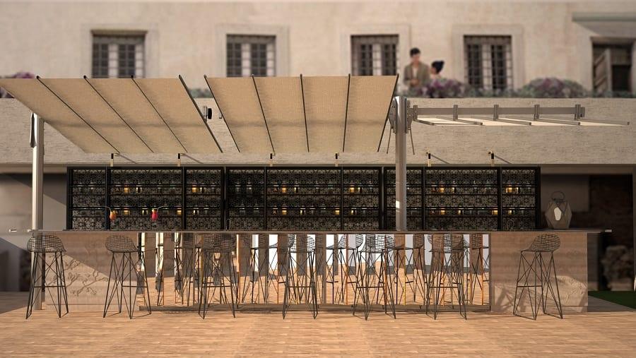 Cocktail Bar A Roma The Court A Palazzo Manfredi Gambero