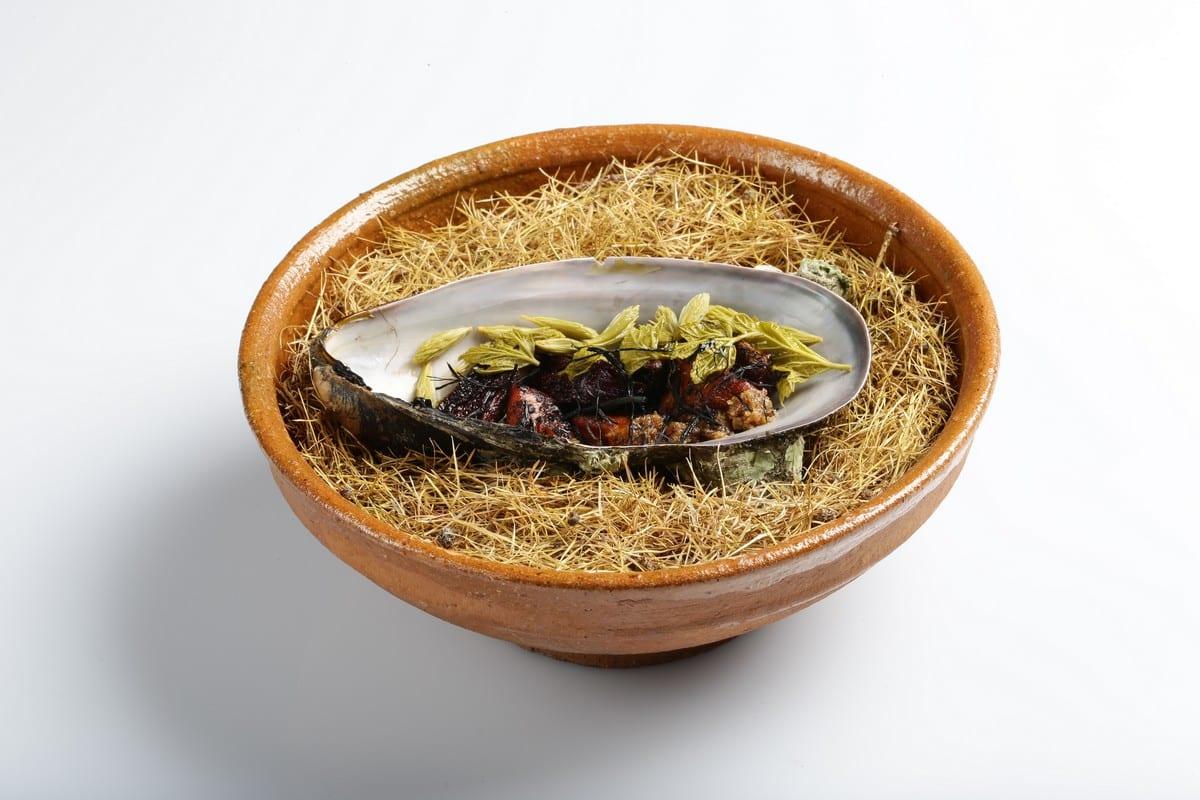 cozza gigante marinata di Nicolai Nørregaard