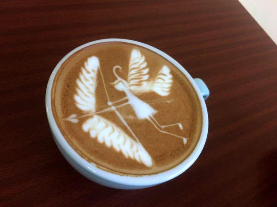 Cupido, Latte Art