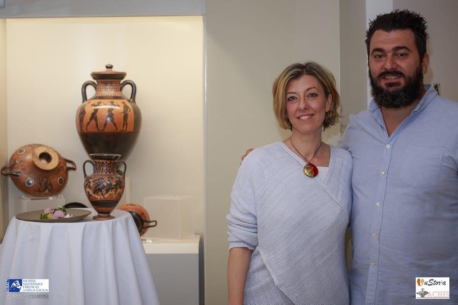 Laura Pinelli e Davide Del Duca
