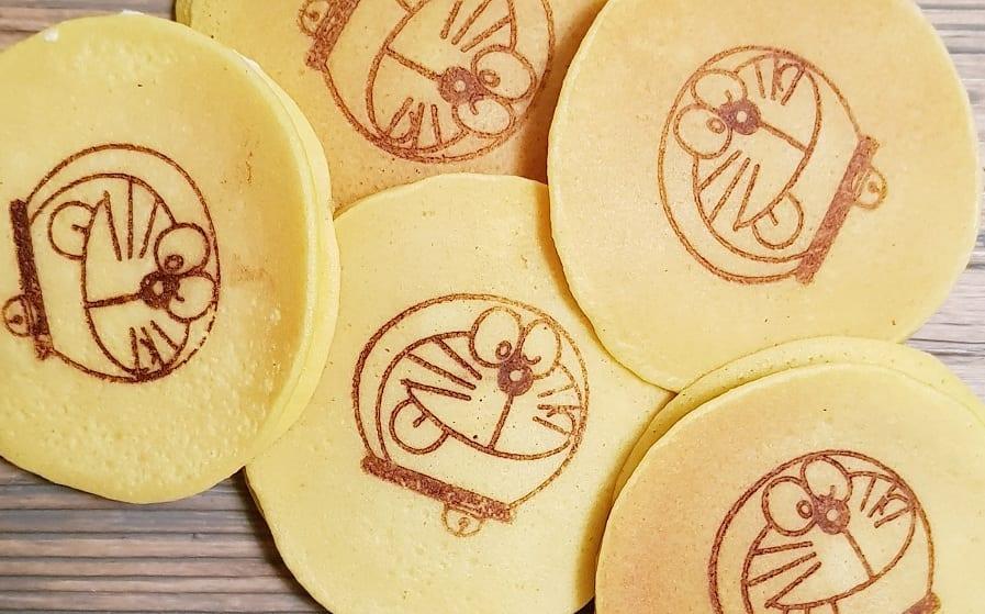Dorayaki: i pancake con l'immagine di Doraemon