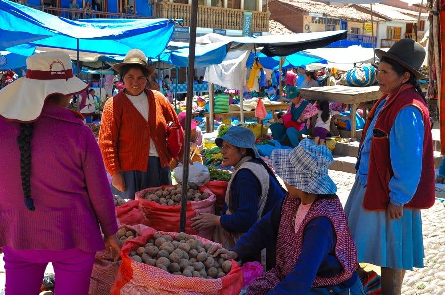 Perù. mercato