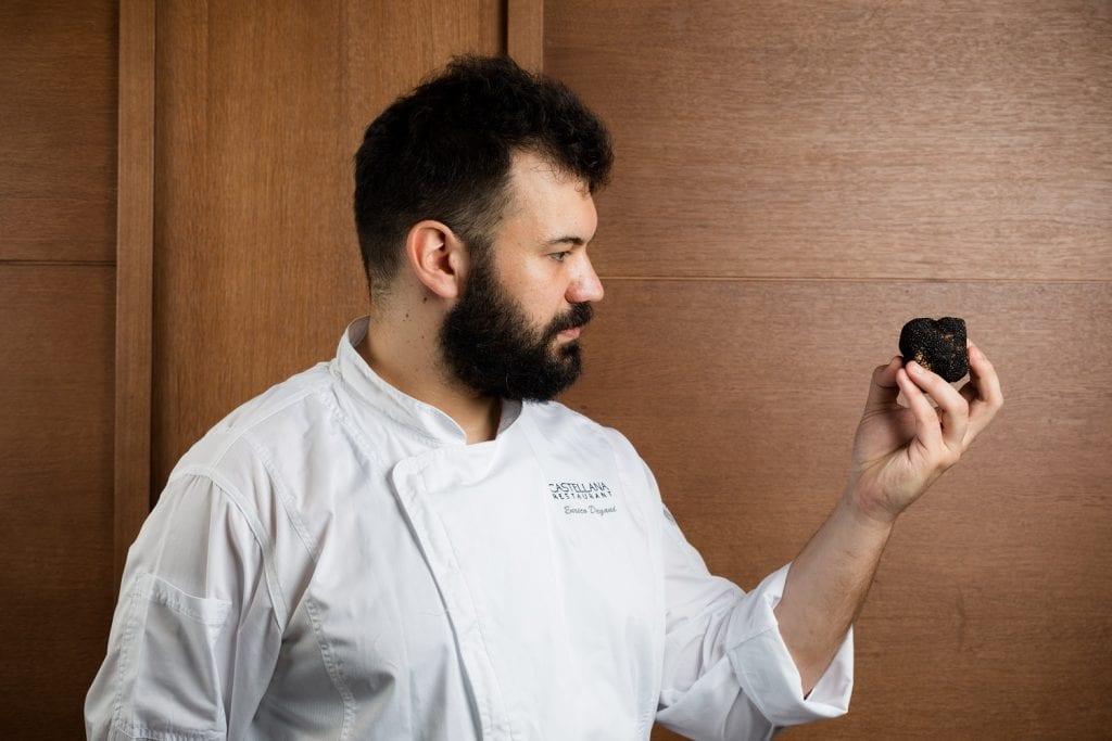 Enrico Degani chef