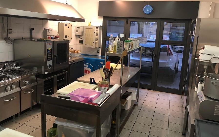 Il laboratorio di cucina di Fermata del Gusto