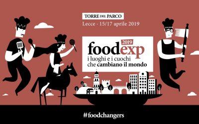 FoodExp. Luoghi e cuochi che cambiano il mondo in congresso a Lecce