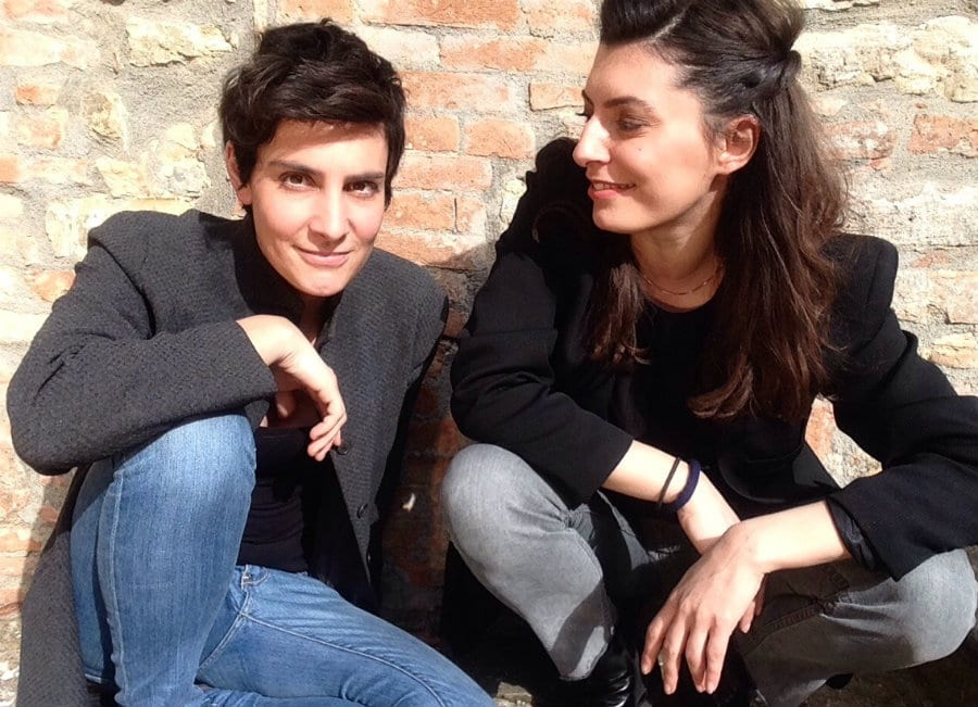 Valeria Sebastiani e Giada Panella, dell'azienda Keynco
