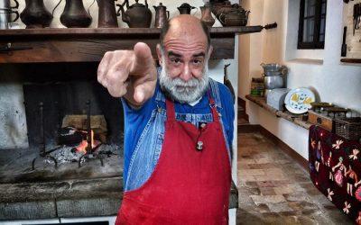 Giorgione nella sua cucina