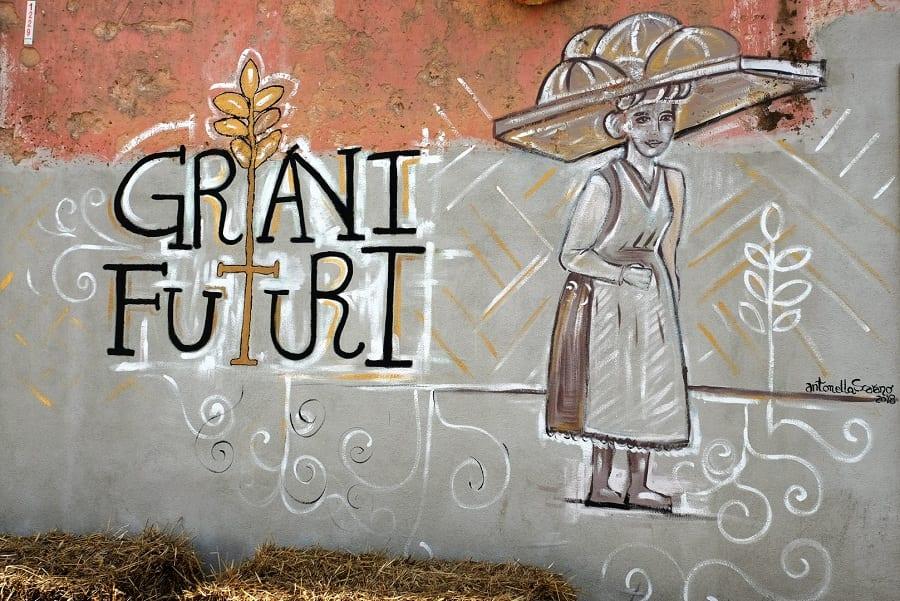 Grani Futuri 2019: murales a San Marco in Lamis