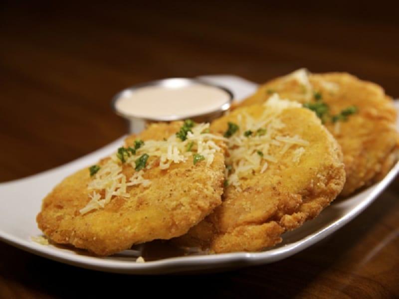 Un piatto di pollo fritto ad Atlanta