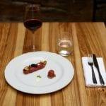 Copia di TURBIGO - Carne cruda di manzo scapece di zucchine scamorza e uova di lompo