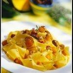 D Pappardelle con zucca e olive