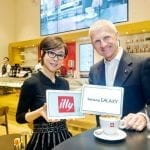 Illy a Londra 8 Younghee Lee and Andrea Illy credits Illy