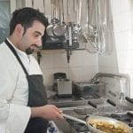 031 Antonio Puppio chef del ristorante Tipicamente di San Fele Pz