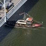 192 Barcos rabelos sul fiume Douro a Oporto