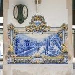 294 293298 La stazione di Pinhao nel Douro con i caratteristici azulejos
