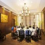 Il ristorante dellhotel Xitang Yanyujiangnan nel villaggio di Xitang Cina