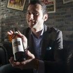 Ivan Icardi uno dei tre proprietari di Uva Wine ristorante e winebar italiano di Shangai