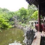 Shangai un tempietto nel giardino di Yu