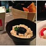 a fuego negro pintxos e risotto cremoso con gelato