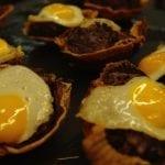bar zeruko morcilla e uovo fritto