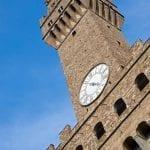 Firenze la torre di Palazzo Vecchio