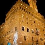 Firenze la torre di Palazzo Vecchio 2