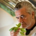 Lo chef Attilio Di Fabrizio del ristorante La Loggia dellhotel Villa San Michele di Fiesole Firenze 2