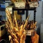 mercato centrale - pesce essiccato