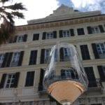 bicchiere e Grand Hotel Alassio