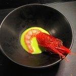 gambero salsa verde di ostrica