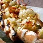 zuma_jumbo tiger prawn with yuzu pepper - ebi no sumibiyaki koshou fuumi crop