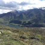 vista lago da frattura vecchia