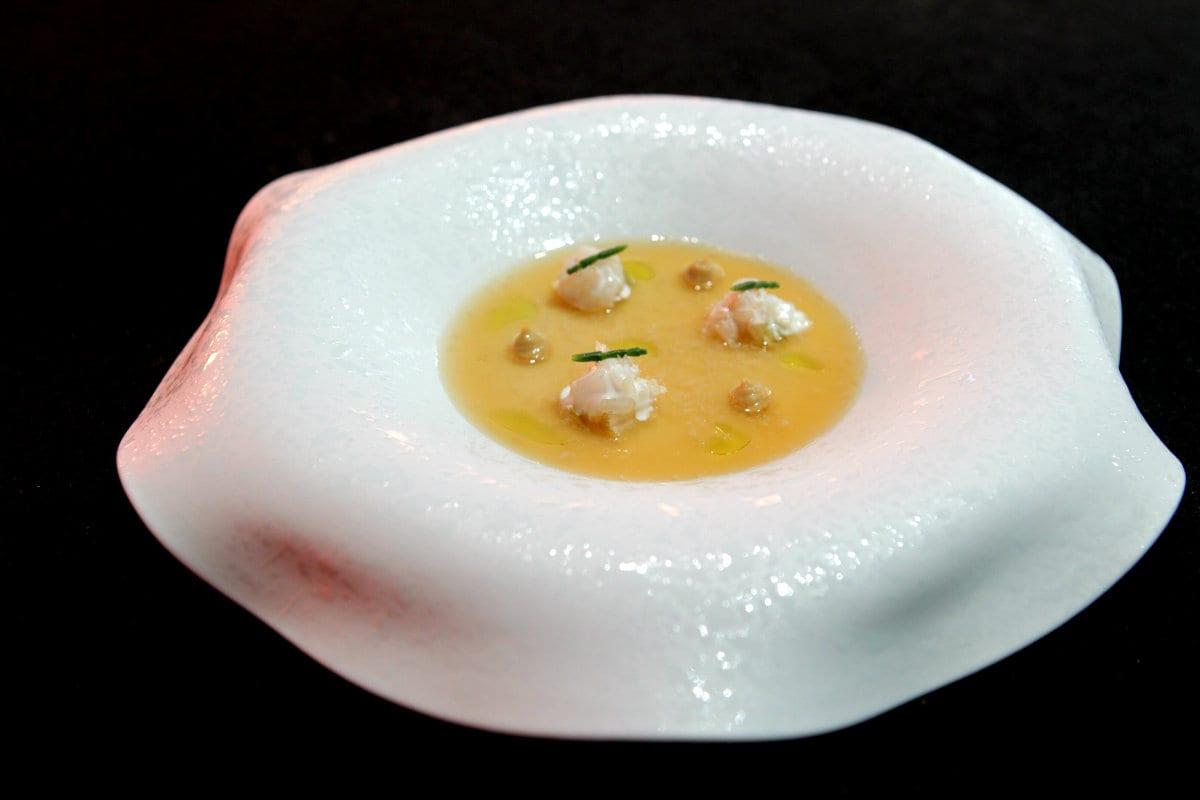 Il piatto di Emmanuelle Baron e Alberto Ferruz