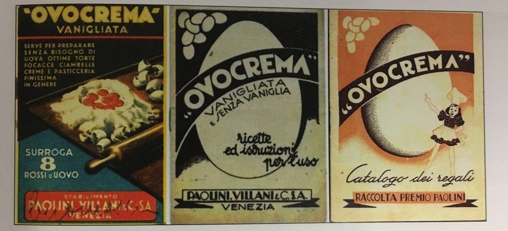 Ovocrema, foto del libro Donne e Cucina in tempo di guerra di Bruna Bertolo, ed. Susalibri