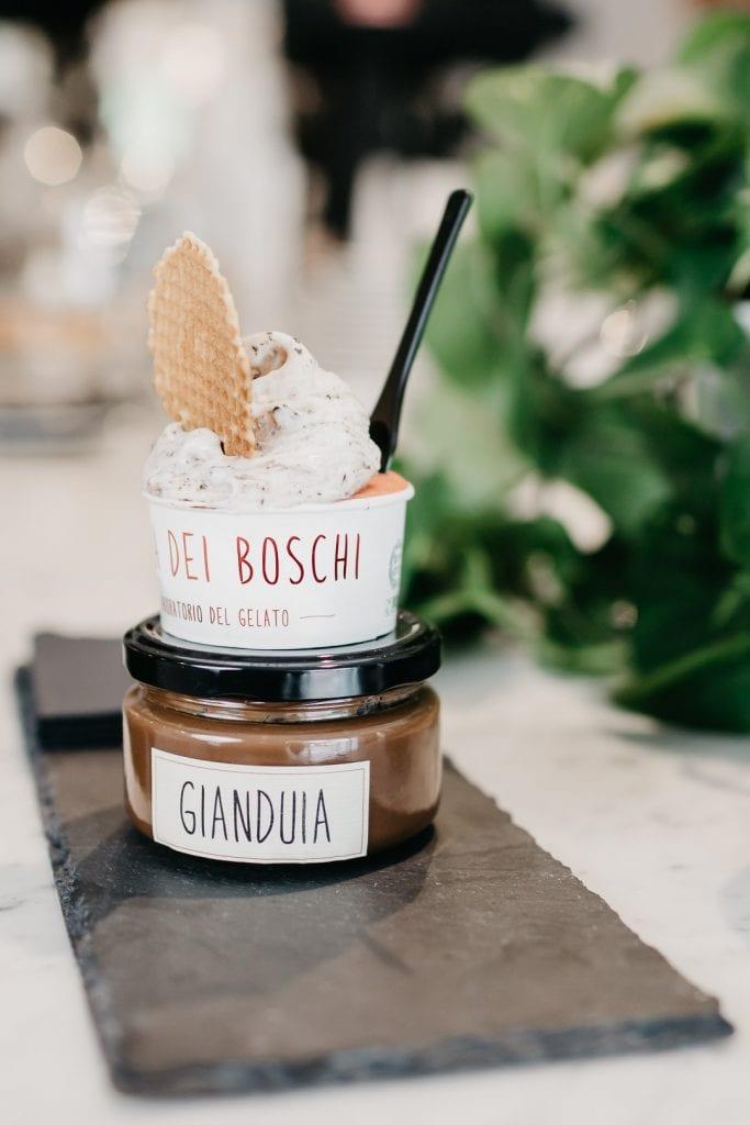 Mara dei Boschi, gelato