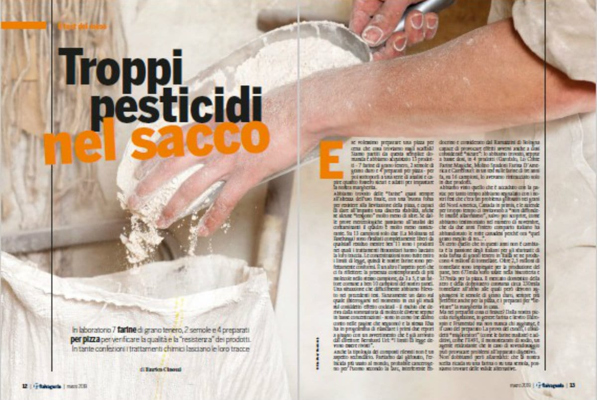 indagine-salvagente La mozione per limitare l'uso dei pesticidi e il test che li rintraccia nelle farine italiane