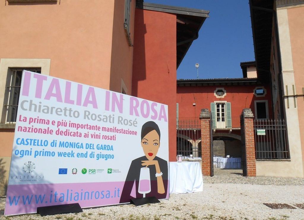 Italiain Rosa 2019, l'ingresso con il cartellone