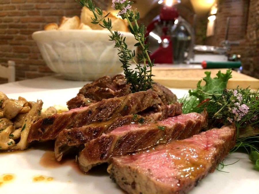 Carne alla griglia di Lazaroun a Santarcangelo di Romagna