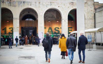 L'ingresso della Stazione Leopolda a Pitti Taste