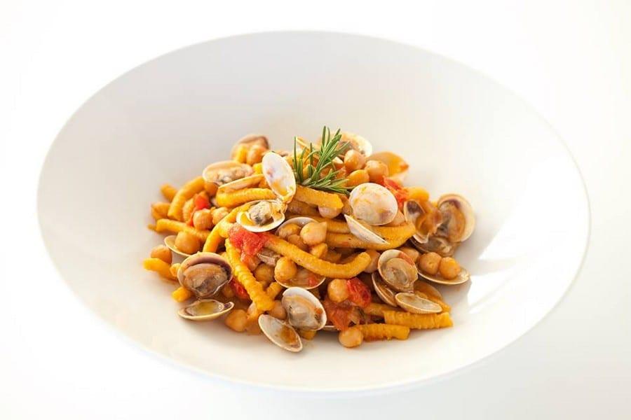Passatelli con le vongole del ristorante Le Vele a Misano Adriatico